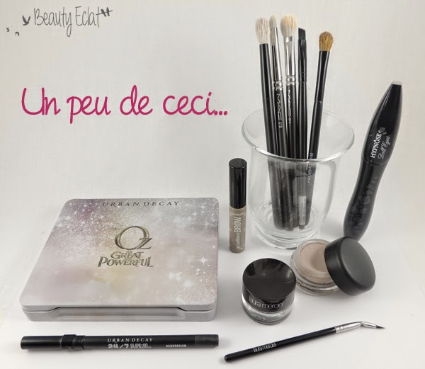 tutoriel maquillage rose violet double liner