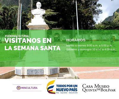 Semana Santa 2017 en Casa Museo Quinta de Bolívar