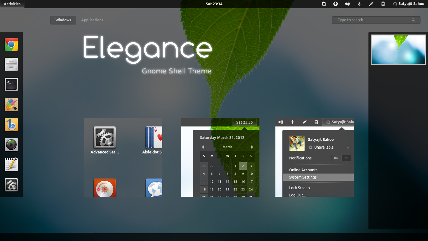 Gnome 4: Orion GTK3 And Gnome Shell Elegance Themes Now Support