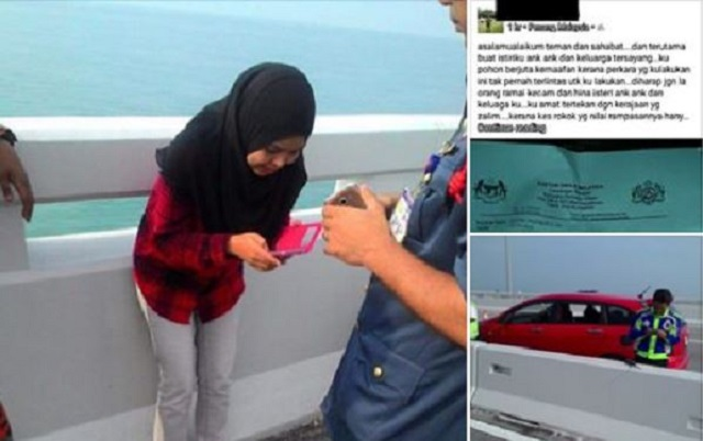 Luahan Terakhir Lelaki Sebelum Terjun Dari Jambatan Pulau Pinang