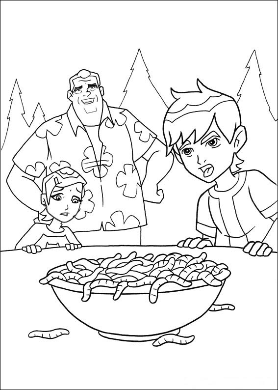 Free Printable Coloring Pages - Cool Coloring Pages: Ben ...