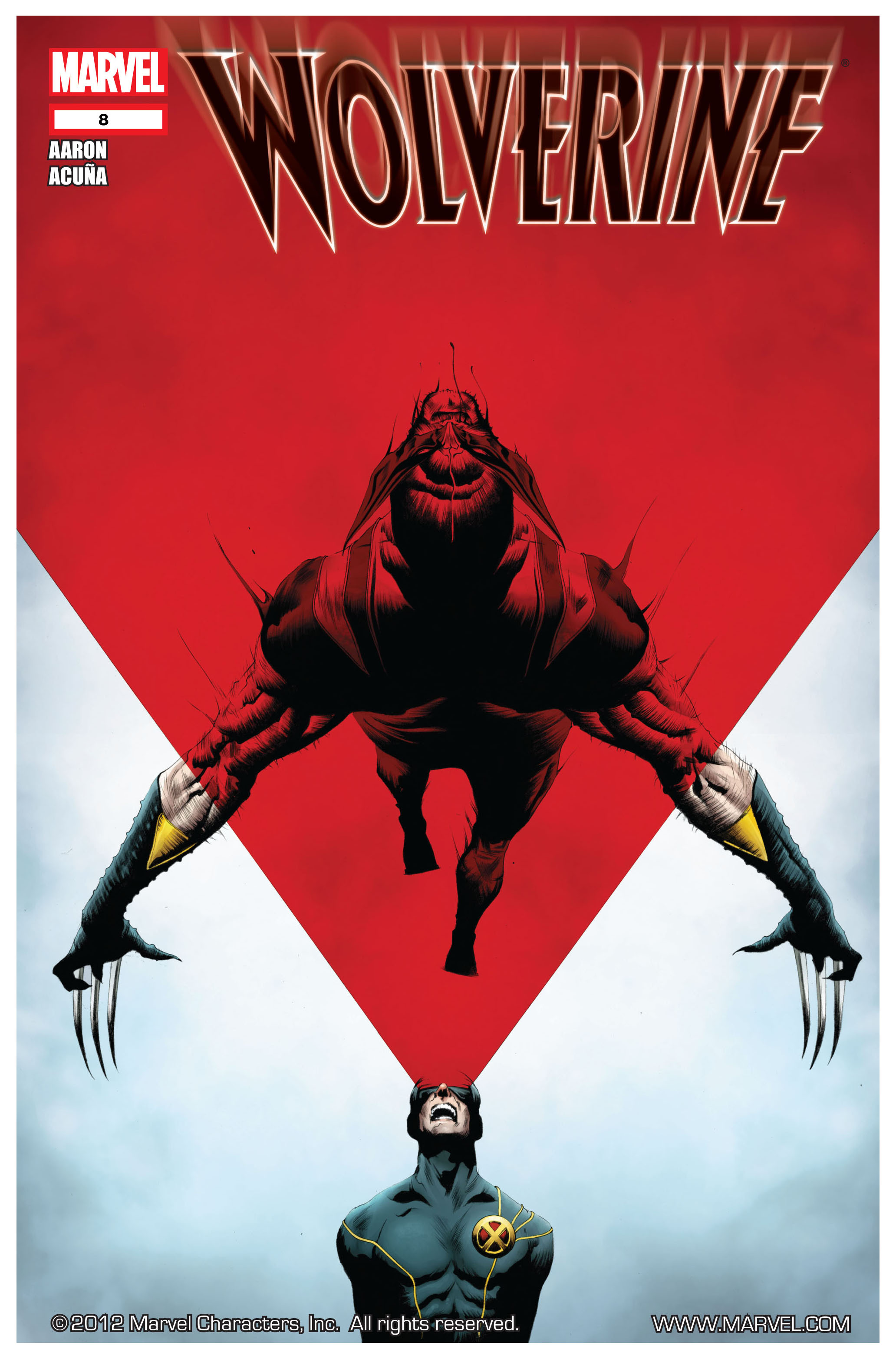 Wolverine (2010) 8 Page 1