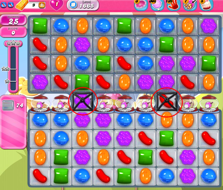 Candy Crush Saga 1665