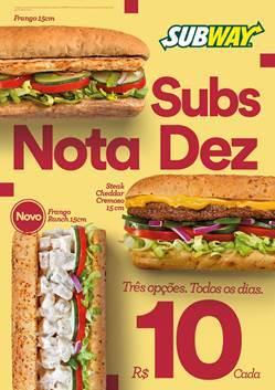 Subway anuncia novidades para 2017