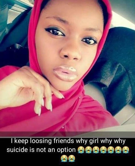 SAD! Ashiat Abdulganiyu commits suicide, leaves note