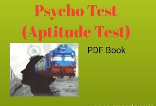 Psycho Aptitude Test Book in hindi pdf