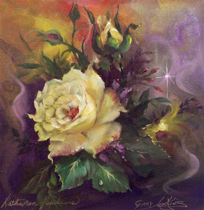 Цветочные картины. Gary Jenkins 19