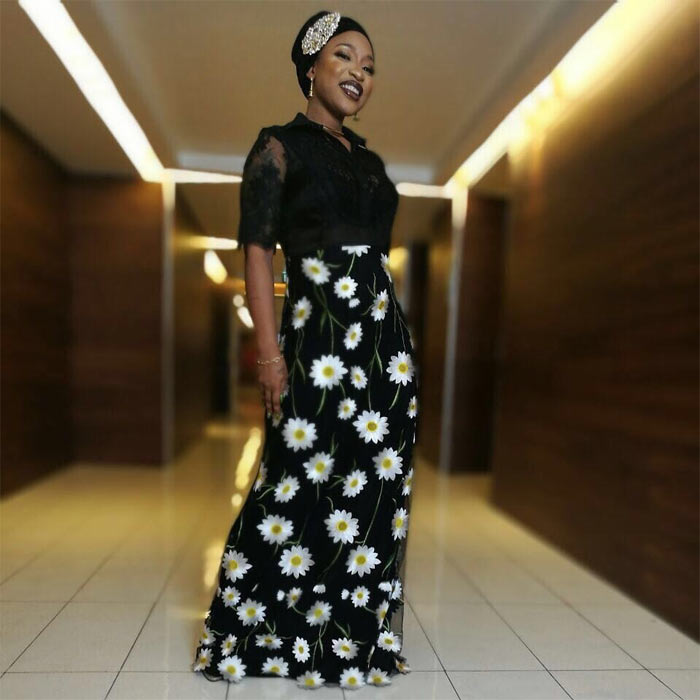 Check out Tonto Dikeh's Sunday church outfit