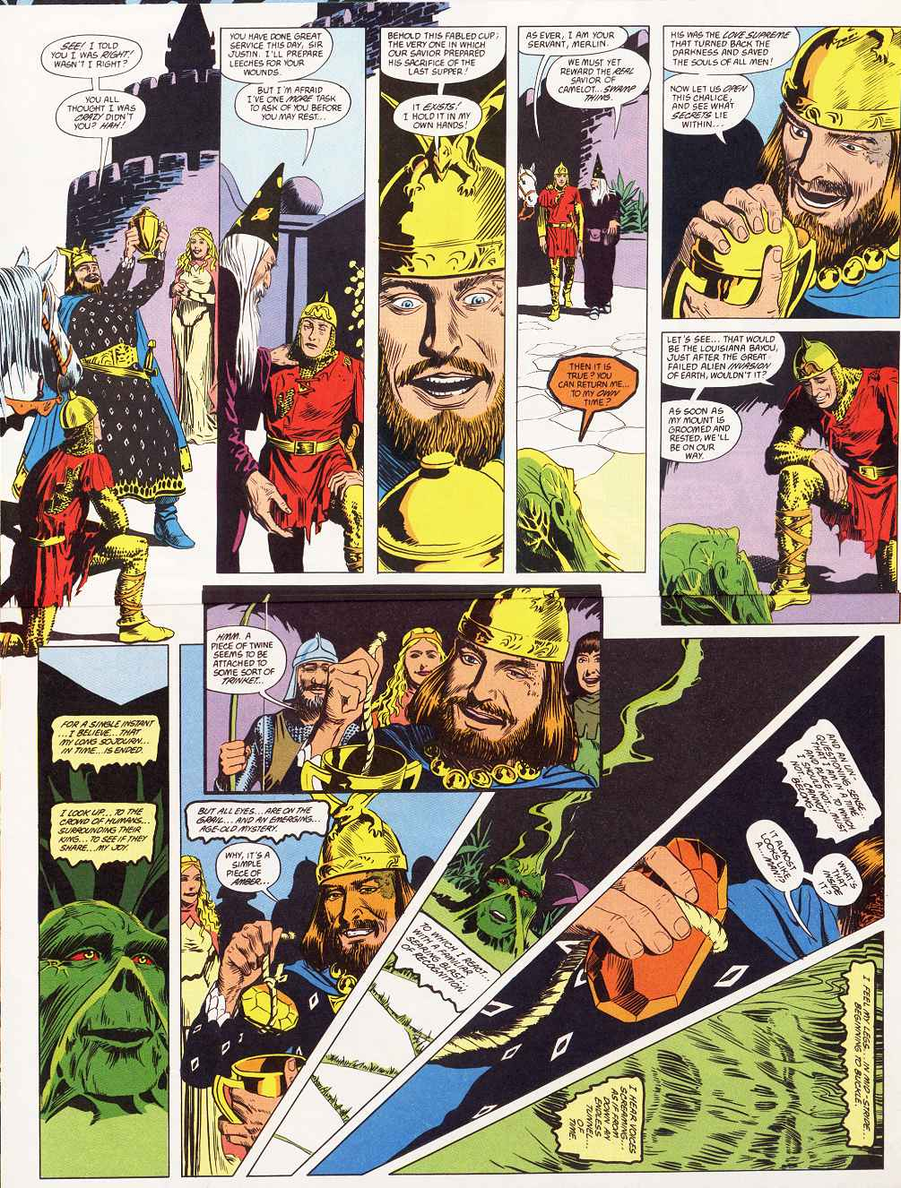 Swamp Thing (1982) Issue #87 #95 - English 11