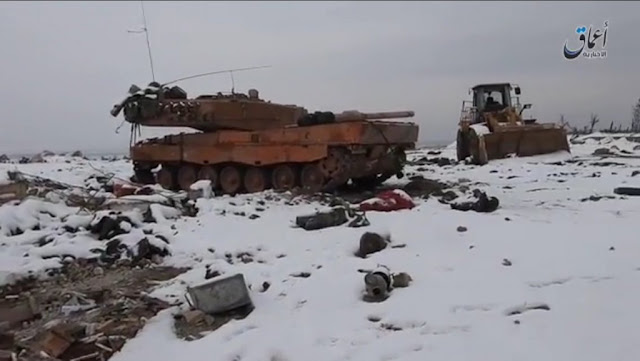 Κατεστραμμένο τουρκικό Leo 2
