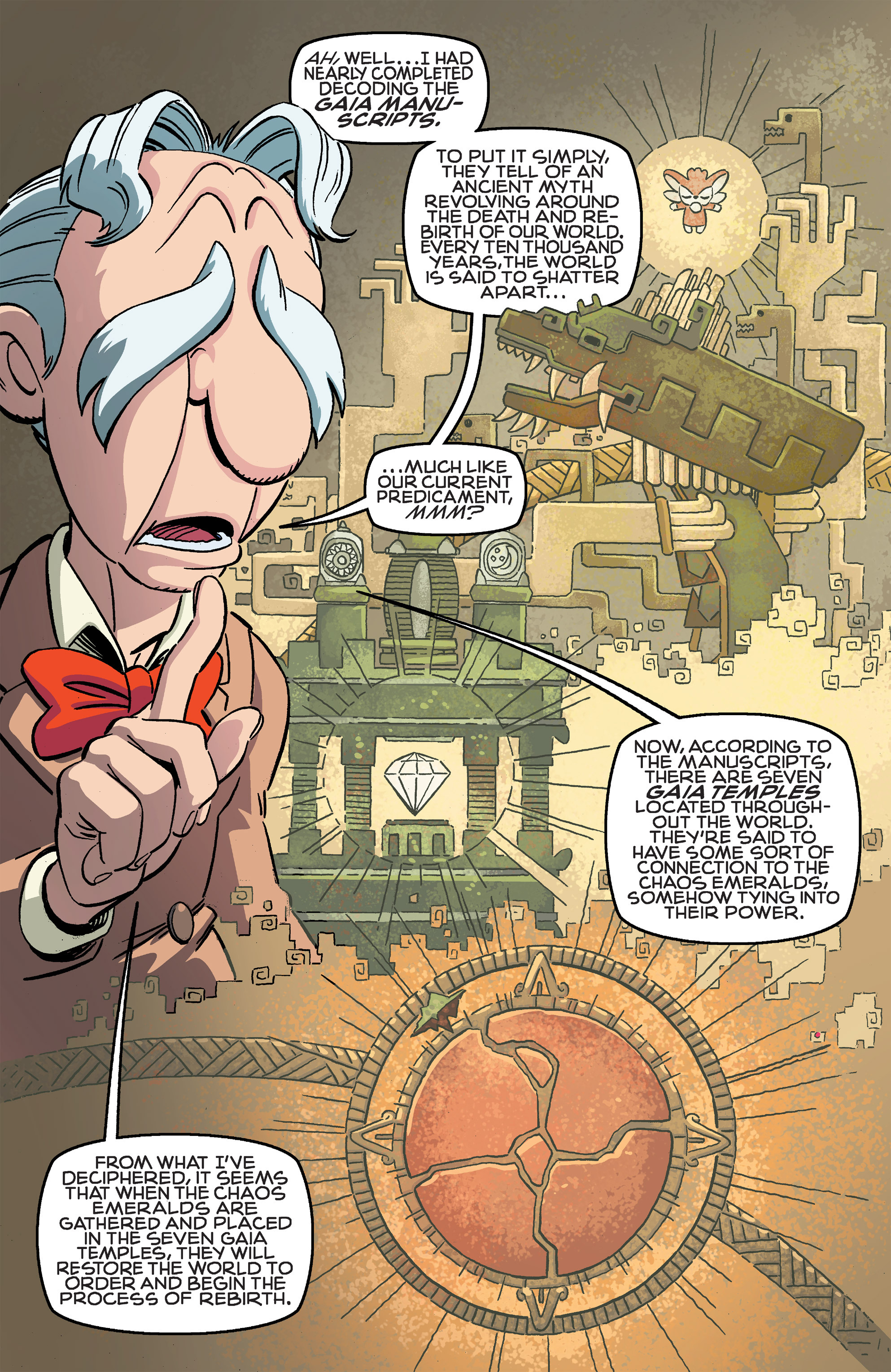 Read online Sonic The Hedgehog comic -  Issue #259 - 15