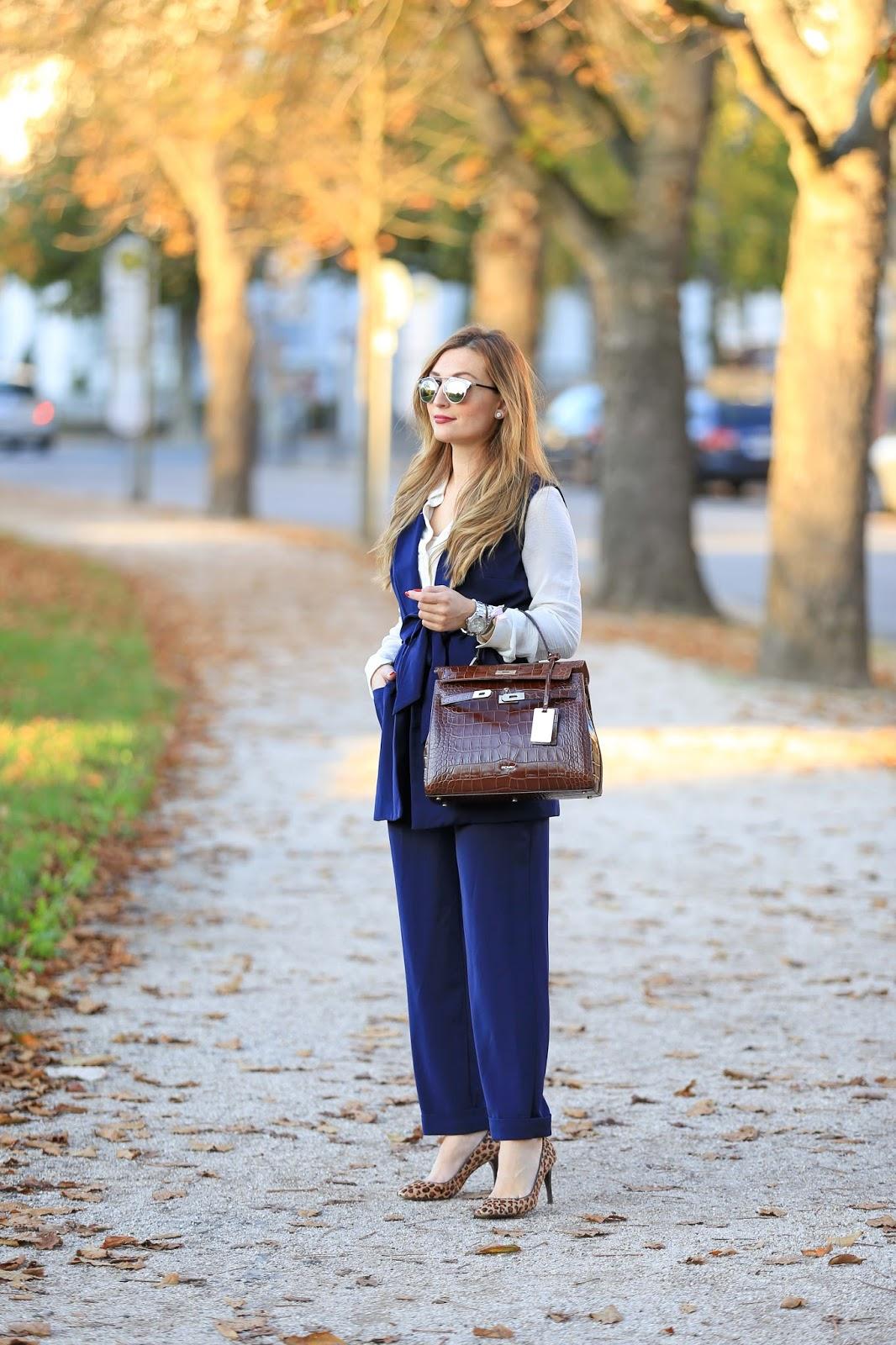 Blogger-Fashionblogger-Streetsylelook-Streetstyleblogger-Fashionstylebyjohanna-Olivia Palermo Style -Business look- Casual Look- Chic Look -Picard Tasche -Tasche Kroko-Kroko Tasche -