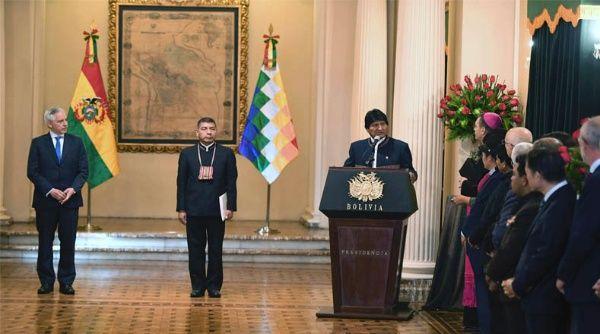 Evo Morales instó a EE.UU. no conspirar contra Bolivia
