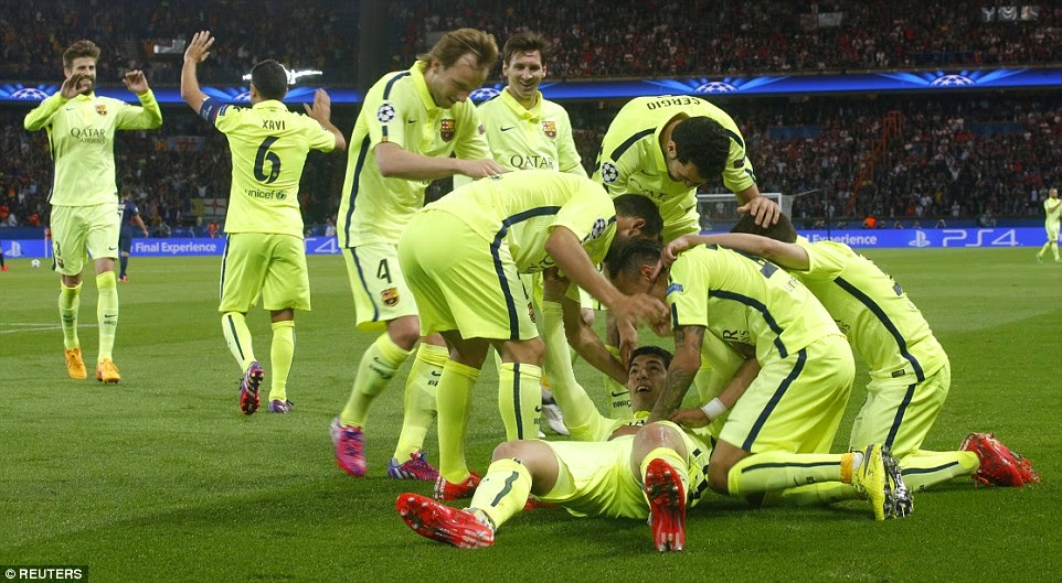 Paris Saint-Germain 1-3 Barcelona