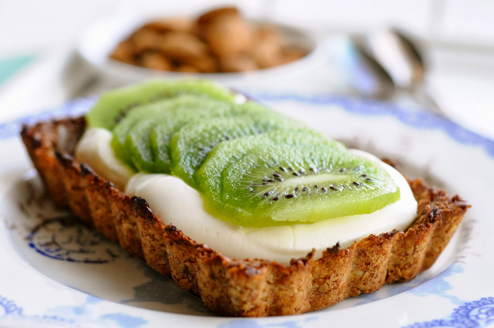 Sund morgenmadstærte med yoghurt og kiwi | Julie Karla | Bloglovin'