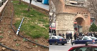 Θεσσαλονίκη: Άρπαξαν σημαίες από 15χρονα κορίτσια και συνεπλάκησαν με περαστικούς