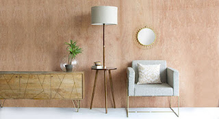 Floor Lamp With Side Table