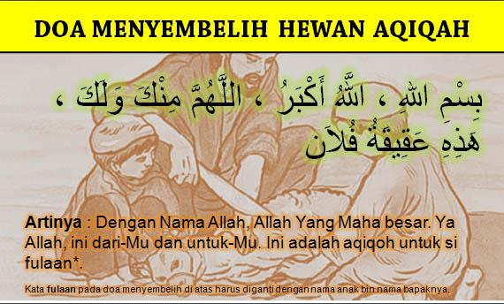 Doa Menyembelih Hewan Aqiqah
