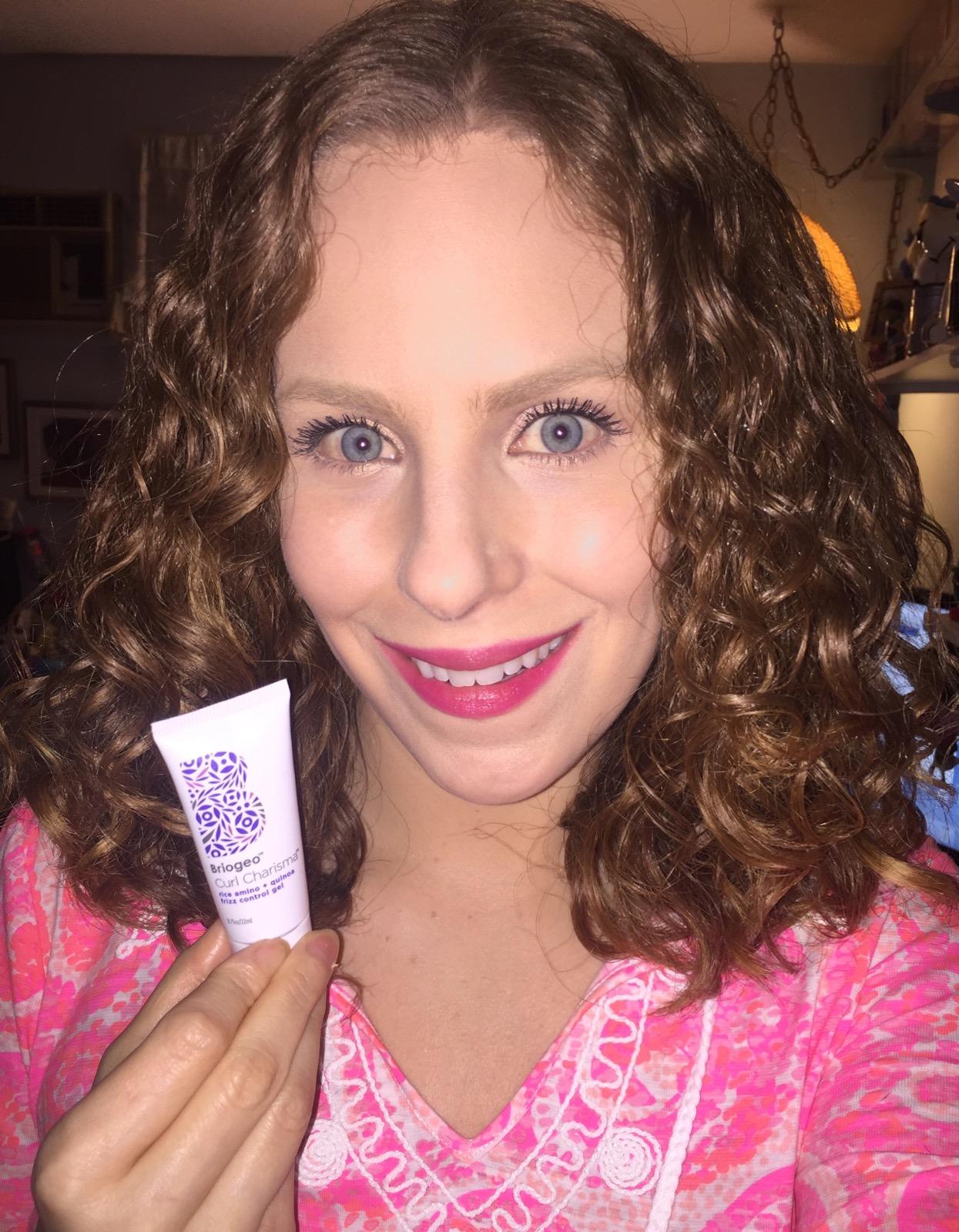 Briogeo Curl Charisma Gel First Use Hair Of The Day Diane Marys