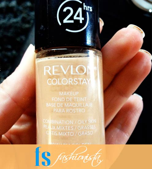 Revlon Colorstay Warm Golden- 310 In my hand