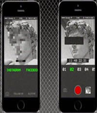 App  for those who are fed up with selfies