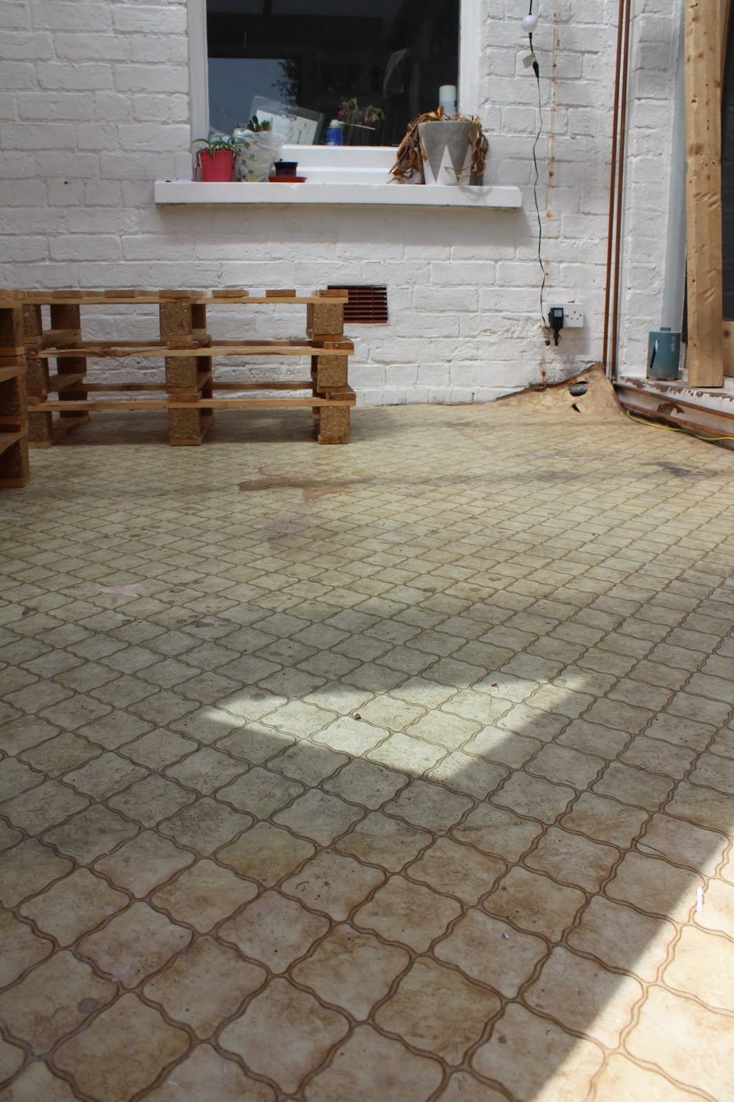 Replacing an Old Lino Floor