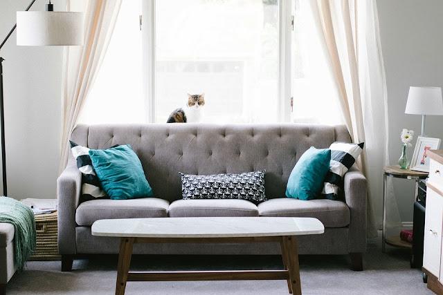 sofa di living room