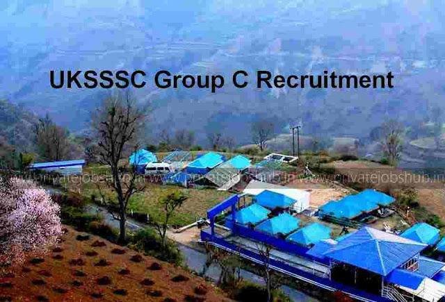 UKSSSC Group C Recruitment 2017–18 (179 Junior Asst/Steno/Amin) Openings
