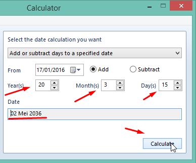 Hitung Tanggal Kematian Menggunakan Kalkulator Hitung Tanggal Kematian Menggunakan Kalkulator