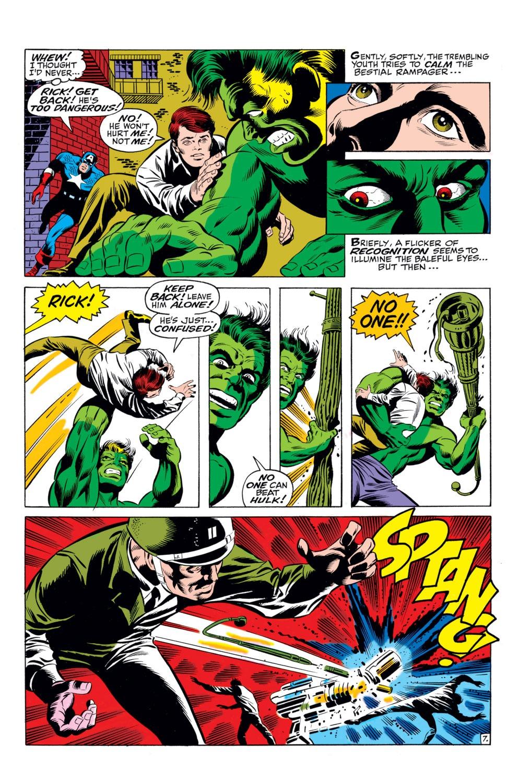 Read online Captain America (1968) comic -  Issue #110 - 8
