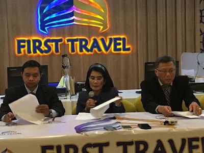 Suami Istri Pemilik First Travel Ditangkap Polisi