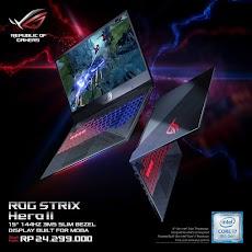 Harga dan Spesifikasi Asus ROG Strix Terbaru ASUS ROG STRIX GL504 HERO II