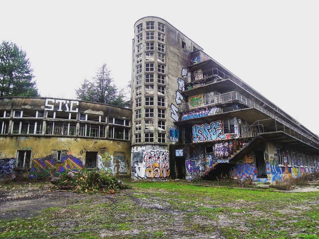 exploration urbaine sanatorium