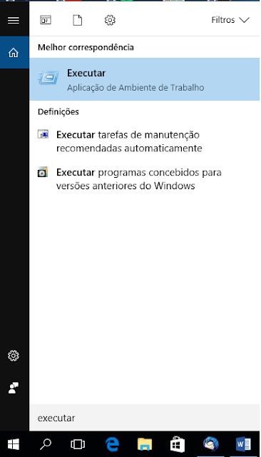 Executar Windows