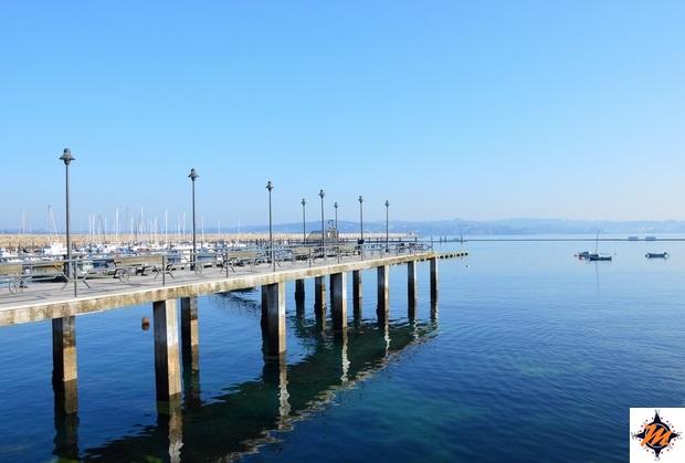 La Coruña, puerto deportivo de las Animas