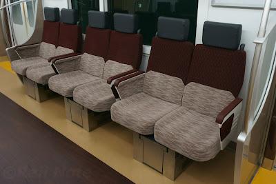 京王電鉄5000系の座席