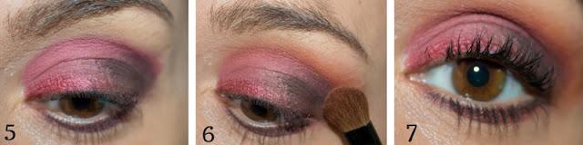Monday Shadow Challenge : Un maquillage de soirée en Marsala !