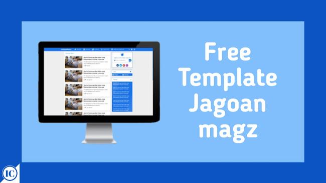 Download Template Viomagz Redesign JagoanMagz