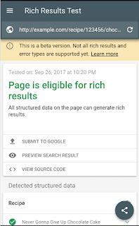 Google meluncurkan Tool Rich Results terbaru dengan beberapa rebranding