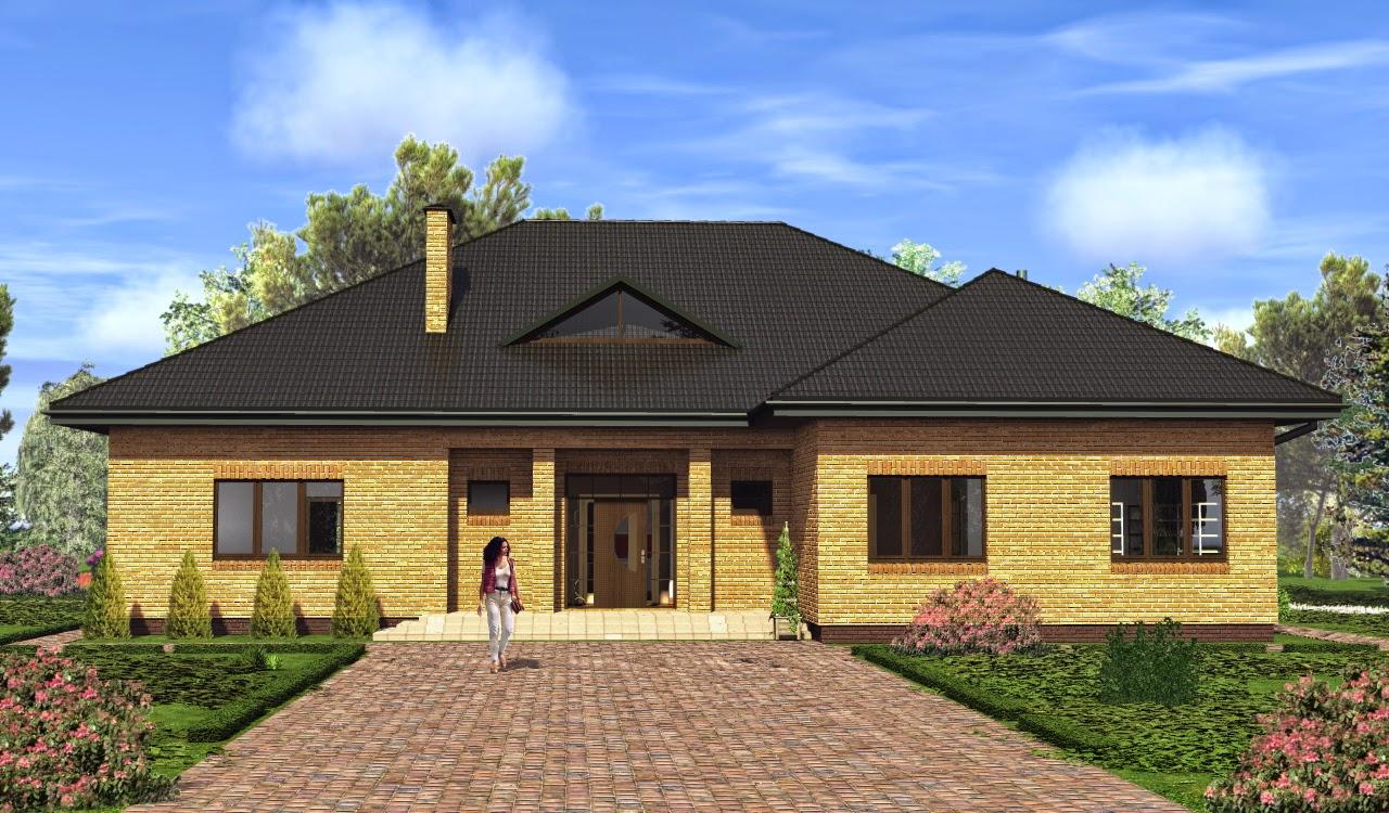 Проекты домов от Евгения Мороза: №106-03. Готовый проект ...