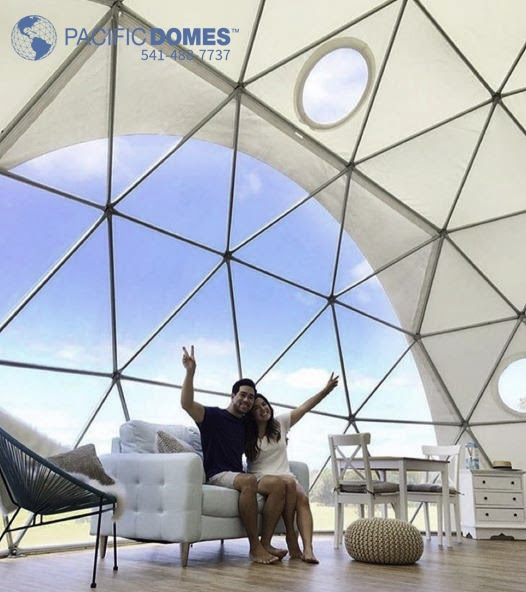 Dome Home Interiors: Dome Homes By Pacific Domes: Tiny GeoDome