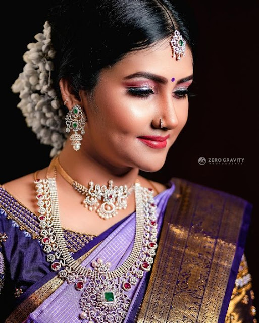 South Indian Brides Trendy Diamond Jewellery