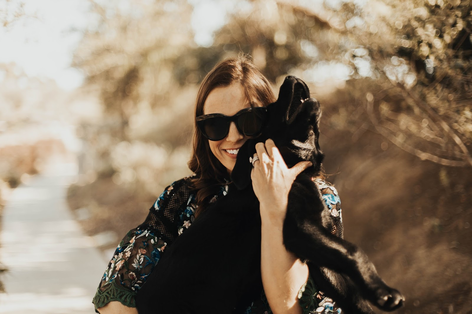 black lab puppy photo shoot