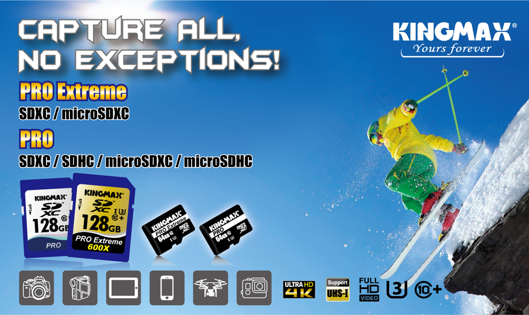 KINGMAX SDXC/microSDXC