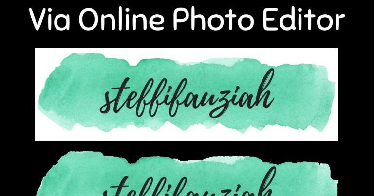Cara Membuat Background Transparan Online Photo Editor Steffifauziah S Blog