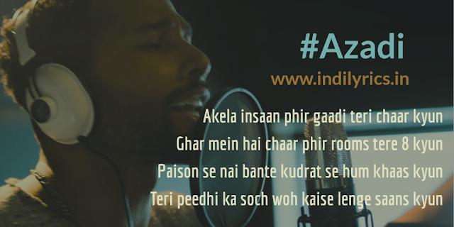 Azadi | Divine & Dub Sharma | Lyrics | Quotes | Translation | Quotes | pics | Images