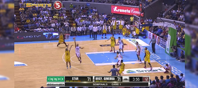 HIGHLIGHTS: Star Hotshots vs. Ginebra (VIDEO) February 9 / Semis Game 1