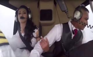 Νύφη πήγαινε στον γάμο με ελικόπτερο και βρήκε τραγικό θάνατο (Βίντεο)
