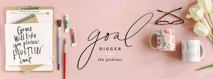 Image result for the goal digger podcast