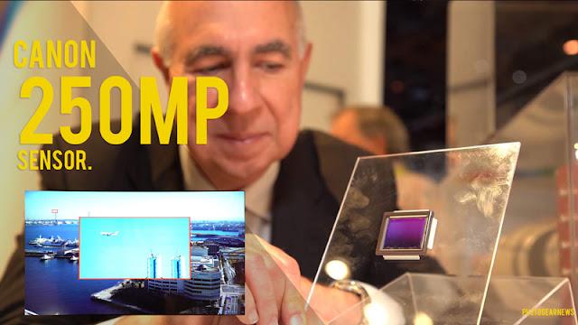 Canon's 250MP APS-H sensor